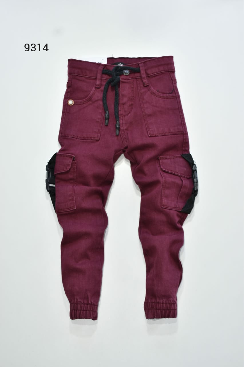 Pantalon Joguer Para Nino Tipo Cargo Jc Valeshka